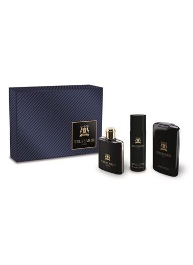 Trussardi Trussardi Uomo E.Edt 100+Sdj200+Deo100 Erkek Parfüm Set Renksiz